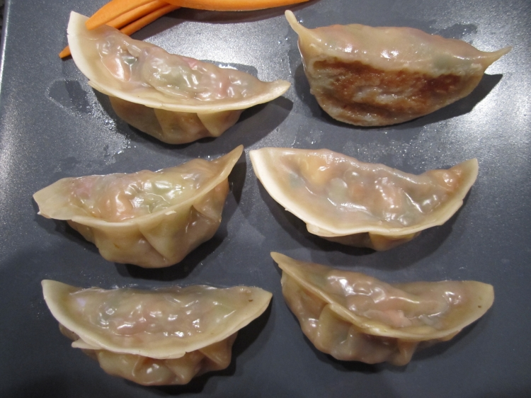 Moreish Japanese gyoza dumplings