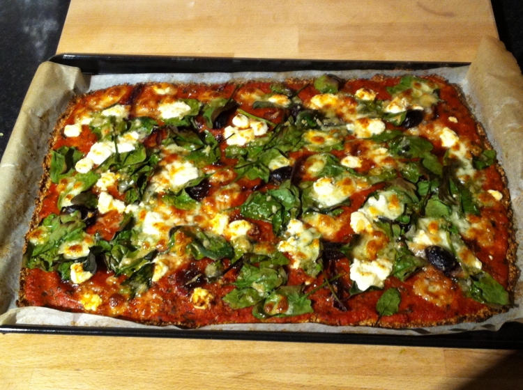 Anna Jones' cauliflower pizza